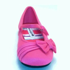 Other - American Eagle girl's pink shoes with bow size 11
